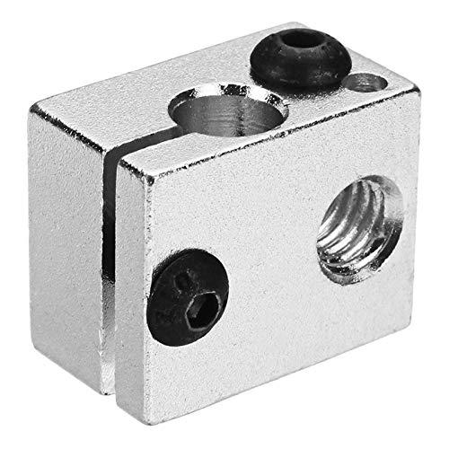 2PCS JGAURORA 20 * 16 * 11.5mm M6 Aluminum Heating Block