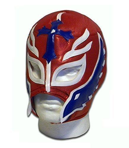 Son of the Devil Erwachsene luchador wrestling Mexikanische wrestler-Maske glitzernd, (Libre Dress Fancy Nacho)