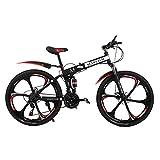 26 Zoll Aluminium Mountainbike Für Männer Und Frauen Mit Vorne Und Hinten Scheibenbremse