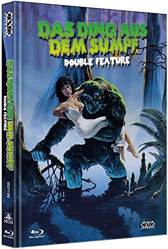Das Ding aus dem Sumpf 1&2 [2 Blu-Ray] - uncut - auf 222 limitiertes Mediabook [Limited Edition]