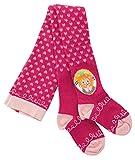 Prinzessin Lillifee Strumpfhose Kinder pink - Süße Mädchenstrumpfhose mit Herzen und Motiv, Größe 74-128, Kids 2:74