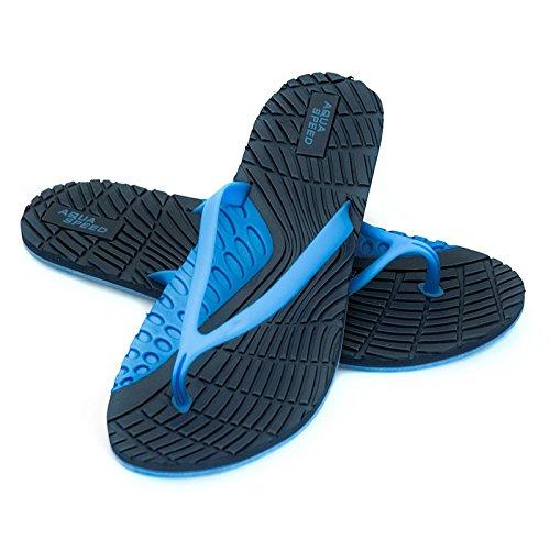 Senhoras Bahama Aqua-velocidade Badeschuhe / Tep Trenner Sapatos De Praia Azul Marinho / Azul