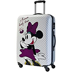 Disney Minnie Bows Mochila Escolar, 72 Litros, Color Blanco