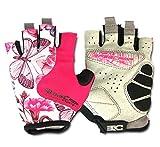 FREEMASTER Fahrrad Handschuhe Training Fitness Damen Herren Fingerlos Sport Gloves