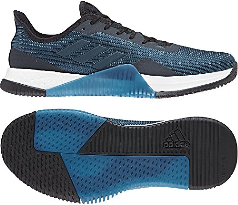 Adidas Crazytrain Elite M, Zapatillas de Deporte para Hombre, Azul (Azcere/Petnoc/Negbas 000), 46 2/3 EU
