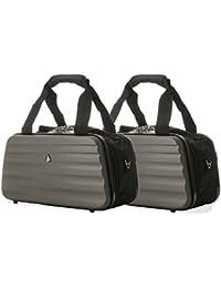 2x Aerolite Ryanair 35x20x20cm Bolsa de equipaje de mano máxima Holdall Bag - ¡Continúa de forma gratuita con Ryanair!