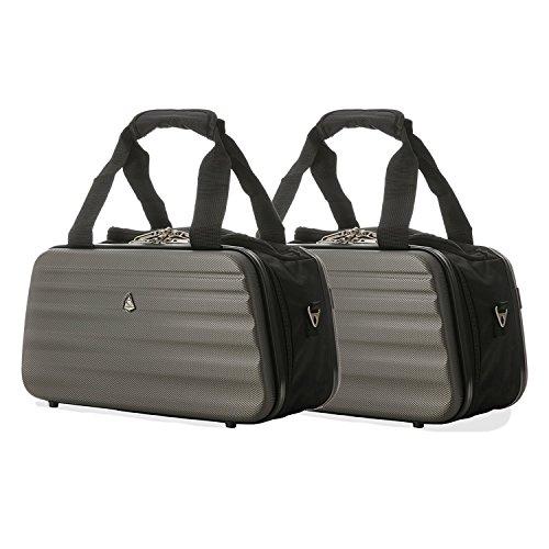 2x Aerolite Ryanair 35x20x20cm sac à main de cabine de bagage à main maximale - continuer gratuitement avec Ryanair!