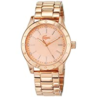 Lacoste Women's Rose Gold Dial Color SS Band Watch - 2000981