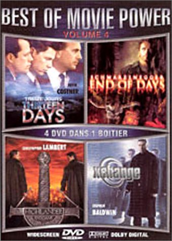 Coffret best of movie power vol. 4 : treize jours / end of days / highlander endgame / xchange
