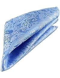 Blazer Homme Bleu Hankerchief pour poche pour poche carré