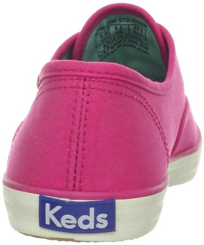 Keds Champion Polka Dot Lace Sneakers Raspberry Pi Rose