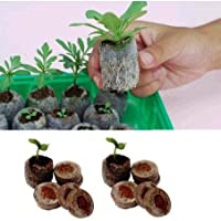 SimpleLife Jiffy Peat Pellets Seed Starting Plugs Pallet Seedling Soil Block ORP 10pcs 30mm Grigio