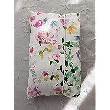 Neceser para pañales y toallitas flores pastel