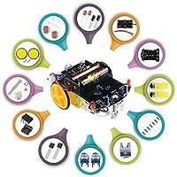Jun_Electron Kit de componentes eléctricos para soldador de coche con tutorial de vídeo
