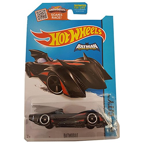 Hot Wheels Batmobile HW City 63/250 Batman The Brave And The Bold