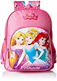 Disney Princess Beauties Pink School Bag for Children of Age Group 8 + years | Size 18 inch