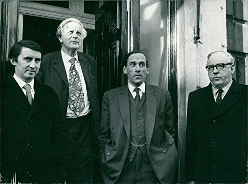 Vintage Foto Di Capi Politici Britannici partito liberale da sinistra a destra: David Acciaio (liberale (Capi Britannici)