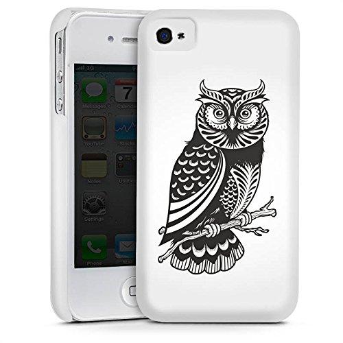Apple iPhone 5s Housse étui coque protection Hibou Hibou Hibou Cas Premium mat