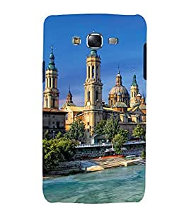 printtech Beautiful City Dome Building Back Case Cover for Samsung Galaxy E7 / Samsung Galaxy E7 E700F