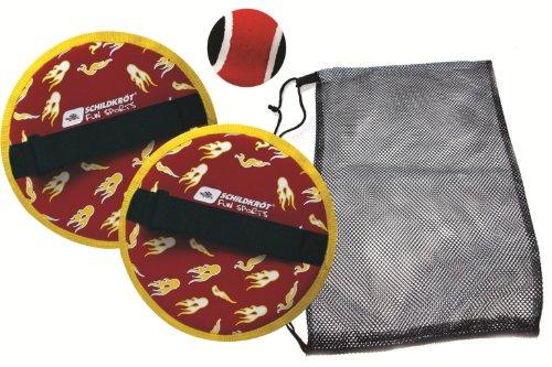 Schildkröt Fun Sports Neoprene Klettball Set, schwarz-rot 970055