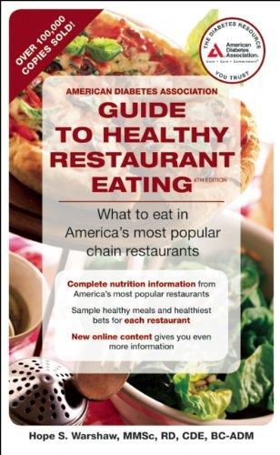 Pdf American Diabetes Association Guide To Healthy Restaurant