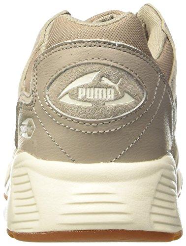 Puma Unisex-Erwachsene Prevail Citi Low-Top Beige (vintage khaki-vintage khaki-whisper white 03)