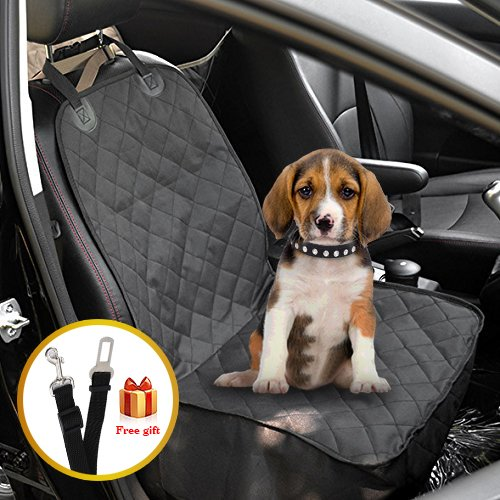 waterproof-front-seat-dog-cover-with-adjustable-pet-dog-car-seat-belt-for-all-cars-trucks-suvs-by-no