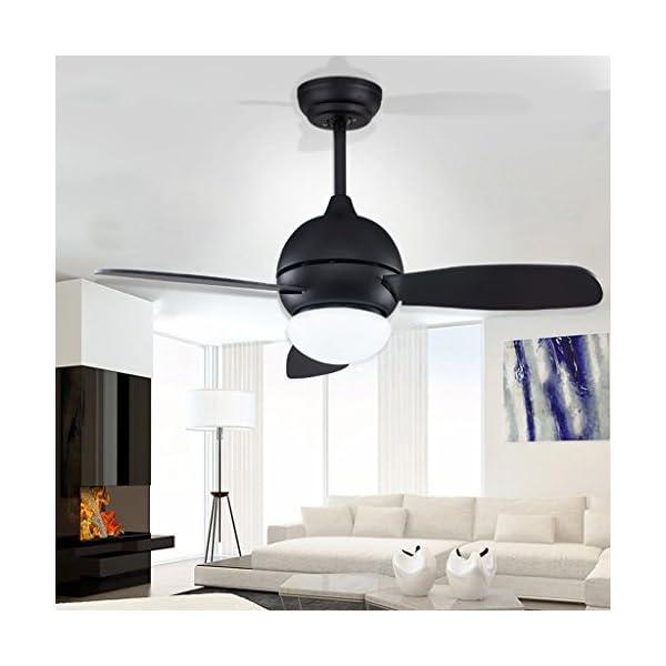 Vintage-Fan-Lmpara-de-Techo-Comedor-Sala-de-estar-Dormitorio-Nios-Ventilador-Lmpara-de-Techo-Comedor-Ventilador-de-Techo-Pequeo-Industrial-Retro-Style-12W-Xuan-worth-having-Color-Wall-Control-Tamao-42