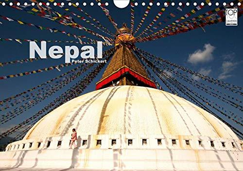 Nepal (Wandkalender 2021 DIN A4 quer): 13 traumhafte Reisefotos aus dem buddhistischen ehemaligen Königreich im Himalaya. (Monatskalender, 14 Seiten ) (CALVENDO Orte)