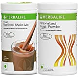 HERBALIFE NUTRITION 1 Nutritional Shake Mix with Personalized Protein Powder, Dutch Chocolate, 400 g