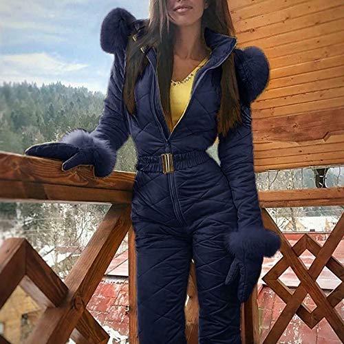 Genlesh Traje de esquí para Mujer