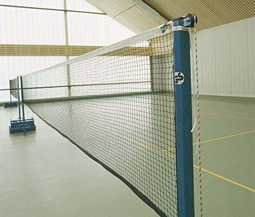Huck Badminton Turniernetz Champion, 4 Netze auf 31 m Kevlarseil
