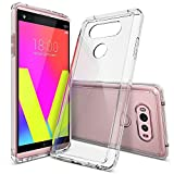 Coque LG V20, Ringke [FUSION] Crystal Clear PC Retour TPU Bumper [Goutte Protection / Absorption des chocs Technologie] Raised Bezels Housse de protection pour LG V20 2016 - CLEAR