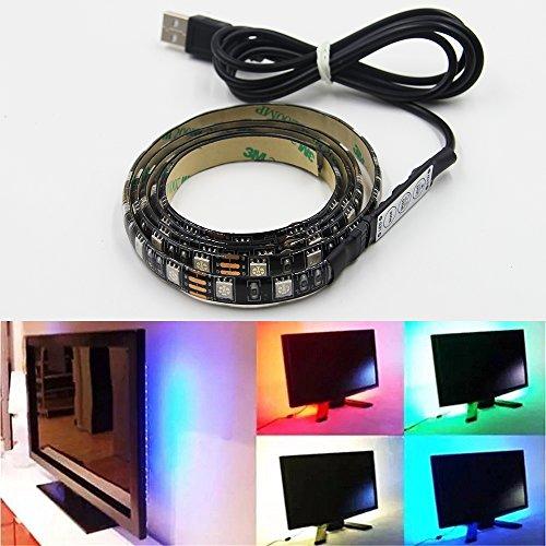 striscia-led-g-i-mall-strisce-led-luce-di-retroilluminazione-rgb-5050-100cm-impermeabile-per-noteboo