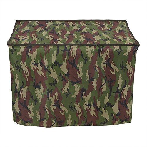 Estink Pet Crate Kennel Abdeckung, Indoor Outdoor Polyester winddicht und wasserdicht Hund Katze Haus Käfig Abdeckung(XL-Green)