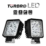 'turbro 3.545W LED Faro de trabajo Luz Foco Espacio adicional para faros delanteros de la Marcha Trasera Auto Car Work Light