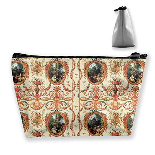 Marie Antoinette Rococo Lovers Seasons Medium Cosmetic Makeup Bag Travel Pouch Carry Case