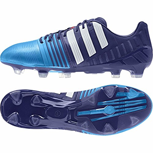 Adidas Nitrocharge 1.0 Firm Ground, Chaussures de Football Homme Blanc