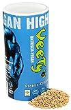 Veety - Vegan Erbsen Protein Crispies 63% - Sojafrei und Zuckerfrei 400g