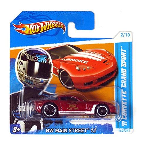 Hot Wheels Chevrolet Corvette Grand Sport 2011 rotmetallic 1:64 1 64 Diecast Corvette