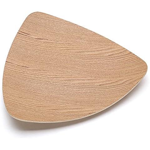 YUENLONG Disegno Triangolo dadi in legno creative a disco piatto
