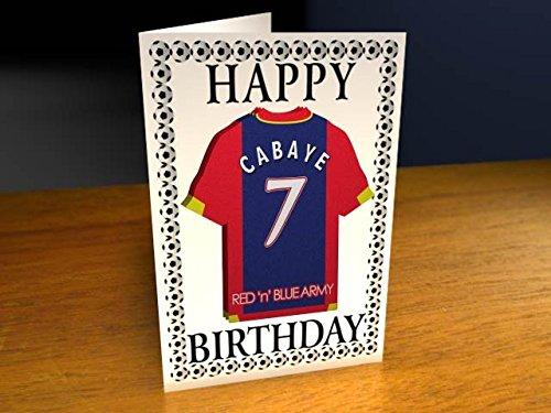 Myshirt123 SHIRT BIRTHDAY – Football Team Birthday Cards