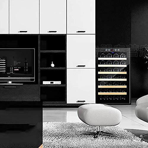 LXD@# Car Refrigerator-28 Bottlesthermoelectric Wine Cooler - Rot- und Weißweinkühler - Aufsatz-Weinkeller - Freistehender Kühlschrank mit LCD-Display und digitaler Touch-Steuerung/Regal aus