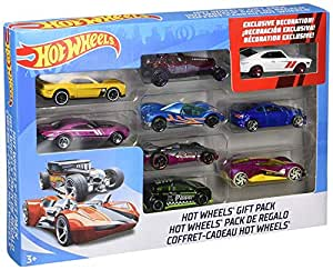 Hot Wheels Mattel 9 Car Gift Pack (Styles/Color May Vary)