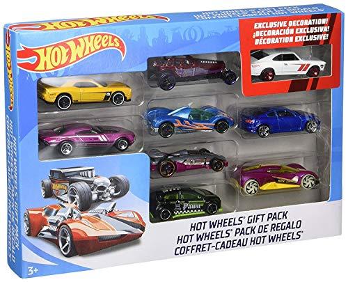 Mattel Hot Wheels 9-Car Gift Pack (Styles May Vary)