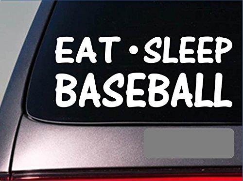 Eat Sleep Baseball Sticker *G786* 8