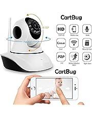 HETASH Wireless HD IP WiFi Camera CCTV Indoor Security CCTV Camera Video Monitor (Inbuilt Mic)
