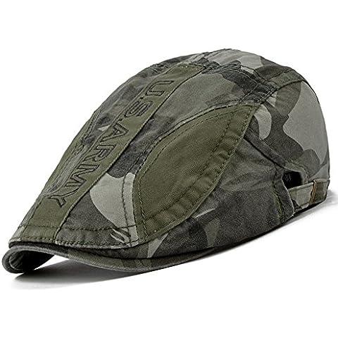 Cappello uomini/Allaperto del cappuccio/Beret primavera/MODA CAPPELLI/Camo (Cappuccio Foderato Hat)