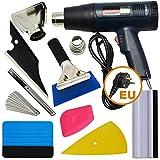 Ehdis Vinyl Fahrzeug Glas Schutzfolie Wrapping Tint Werkzeuge mit Heat Gun Kit