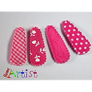 4er Set Haarspangen für Babys und Kleinkinder